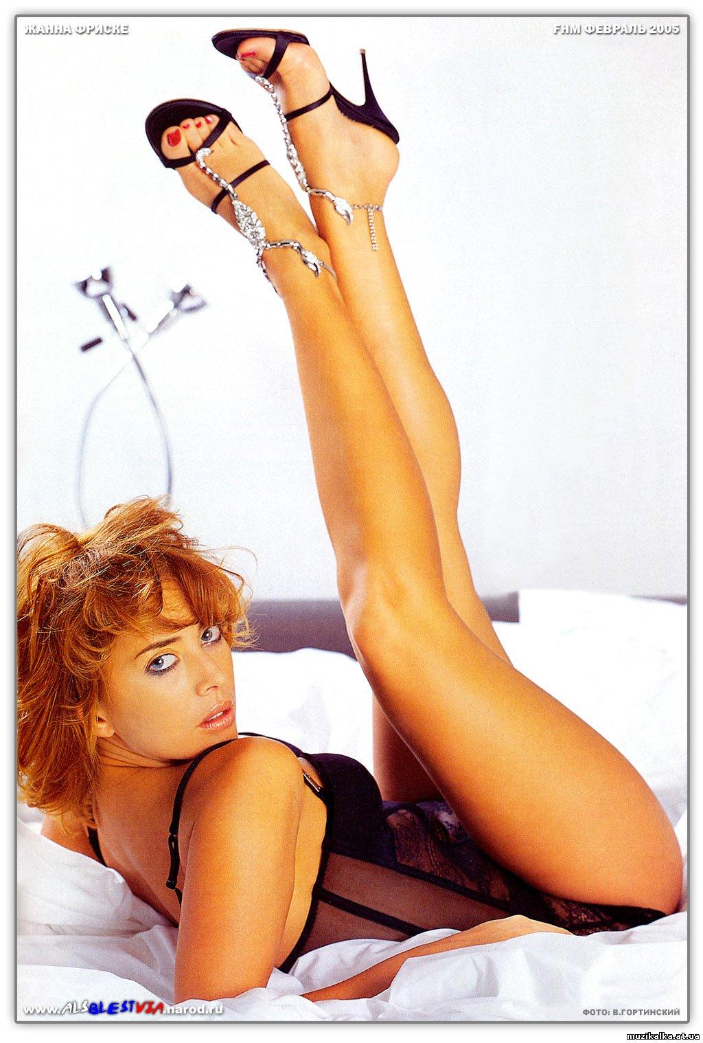 Фотки красивой и голой Жанны Фриске.